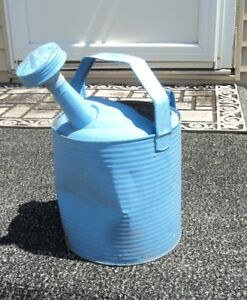 Watering Can Galvanized Sussex