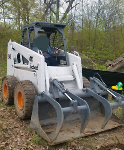 Bobcat 943 Skidsteer Package with Backhoe Attachment