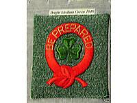 1948 1st FIRST CLASS Vintage Intermediate Girl Scout Insignia Patch Multi=1 Ship