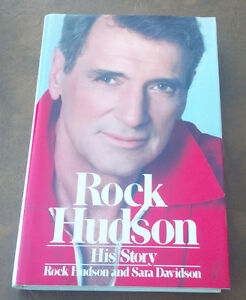 Book: Rock Hudson, His Story, 1986 Kitchener / Waterloo Kitchener Area image 1