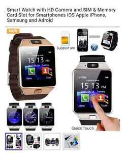 Smart watch iPhone and Android compatible