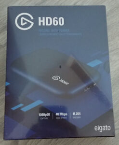 Elgato HD60 for Xbox One, PS4, Nintendo Switch Brand New