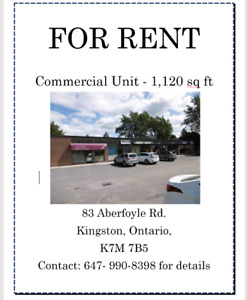 Unit For Rent in Kingston Ontario