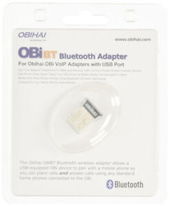 BNIB Obihai OBiBT Bluetooth Adapter, Pairing OBi2, OBi3 Series