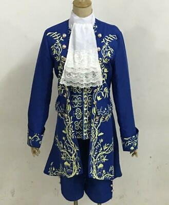 Movie Prince Beauty and The Beast cosplay costume Halloween for adult outwear