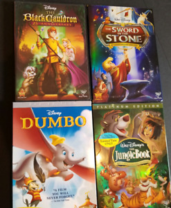 8 Disney dvds bundle