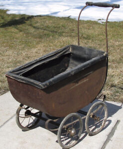Antique 1930's? Doll Carriage