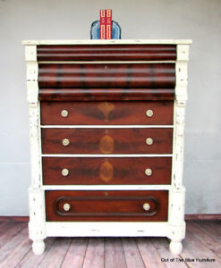 Antique 1870's Empire Chest of Drawers
