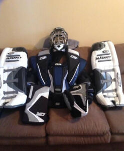 Ice hockey goalie equipment for sale