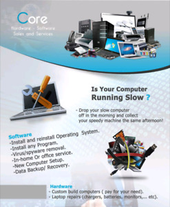 Computer and laptop maintenance software hardware