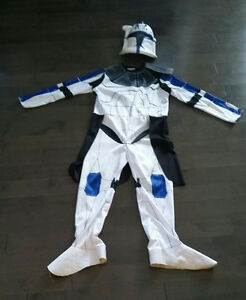 Captain REX size medium costume and mask Strathcona County Edmonton Area image 1