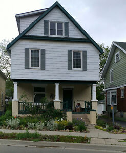 Downtown Kitchener, 2 bedroom unit by Victoria Park. July 7