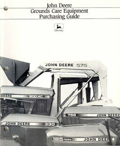 JD grounds equipment guide
