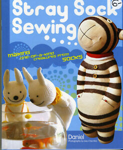 STRAY SOCK SEWING - MAKING ONE OF KIND CREATURES FROM SOCKS