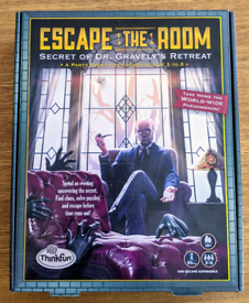 ThinkFun Escape the Room Secret of Dr Gravely's Retreat