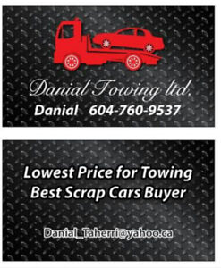 TOW TRUCK . TOWING AND SCRAP CAR REMOVAL  6047609537