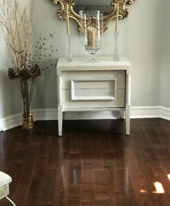 Rustic white table