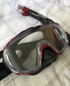 TUSA Sport Adult Mask and Snorkel