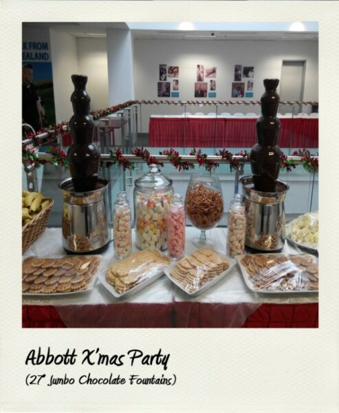 "[Rent] 27"" 4-Tier Jumbo Plus Chocolate Fountain"