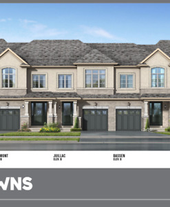 3 Bedroom - Brand New Townhome 2008 sq ft for Rent  StoneyCreek