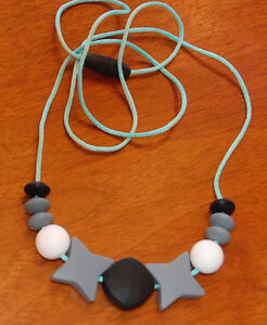 Special needs - bite / fidget necklace