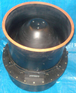 Helicopter Marconi Avionics Loud Hailer Speakers CMA-402 1957 x2