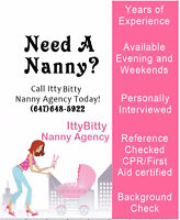 ARE YOU LOOKING FOR A NANNY, BABYSITTER OR HOUSE KEEPER?