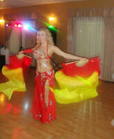 Bellydancing with Fan Veils