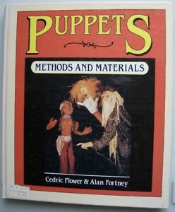 Book,PUPPETS,METHODS and MATERIALS,1983,HC,138 pages,beautiful..