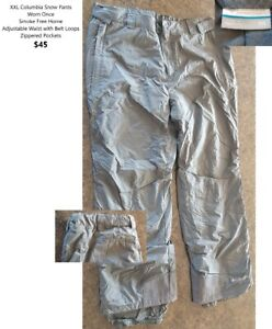 XXL Columbia Snow Pants