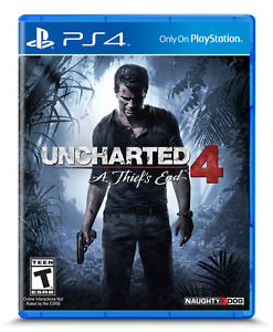 Uncharted 4 for PS4 (*BRAND NEW & SEALED*)