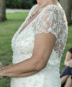 Maggie Sottero-Amal Wedding Dress Kingston Kingston Area image 7