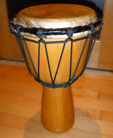Djembe fait Canada érable 22 cm diamètre/Maple Djembe 8.5' head