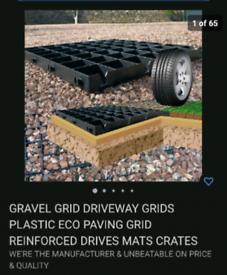2 plastic grids