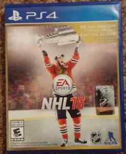 NHL 16  AND 15 FOR PS4