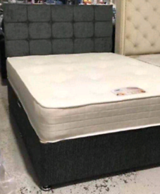 ♥️STUNNING DIVAN BEDS WITH HEADBOARD!!FREE DELIVERY