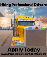 Hiring Professional  Vancouver Based Company/Owner Drivers