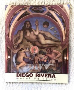 RARE Hardcover Diego Rivera's Mural Paintings Antonio Rodriguez