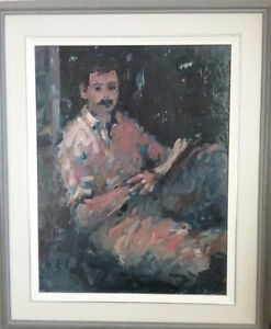 Original Arthur Shilling Oil on Masonite