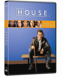 "TV show ""House"" DVD's Seasons 1 and 2"