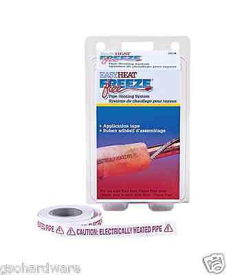 Easy Heat 1/2 x 30 APPLICATION TAPE Pipe Heating Cable Freeze Protection NEW!