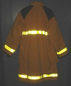 BH759 Securitex PBI Fire Fighters Turnout Bunker Coat Style 419L Kawartha Lakes Peterborough Area image 2