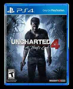 Uncharted 4: A Thief's End - Brand new, factory sealed
