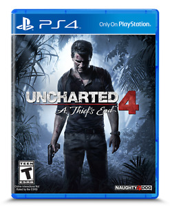 Uncharted 4 swap/trade for similar priced game