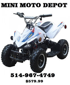 SUPER CADEAU MINI QUAD 500WATT $579.99! MINI MOTO DEPOT
