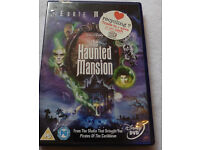 The haunted mansion Disney DVD based on the attraction at parks can send
