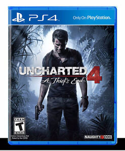 Uncharted 4: A Thief's End - PlayStation 4 OBO