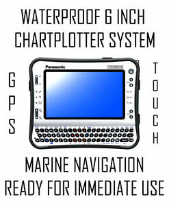 *TOUCH* 12 INCH MARINE NAVIGATION CHART PLOTTER SYSTEM + GPS