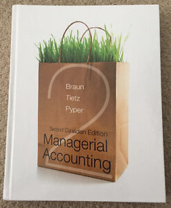 Managerial Accounting - Second Canadian Edition