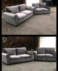 Grey sofa set £230 free delivery